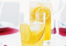 نوشیدنی خنک شربت نارنج